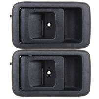 ECCPP Door Handles Interior Inside Inner Driver Side Replacement for 2001 2002 2003 2004 Toyota Tacoma Black(2pcs)