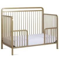 Baby Relax Juniper Metal Toddler Guardrail, Champagne Gold