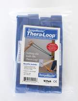 RangeMaster TheraLoop Door Anchors │ Non-Slip │ Complements Exercise Bands or Tubes │ Great for Exercising or Strengthening Activities│10 Pack
