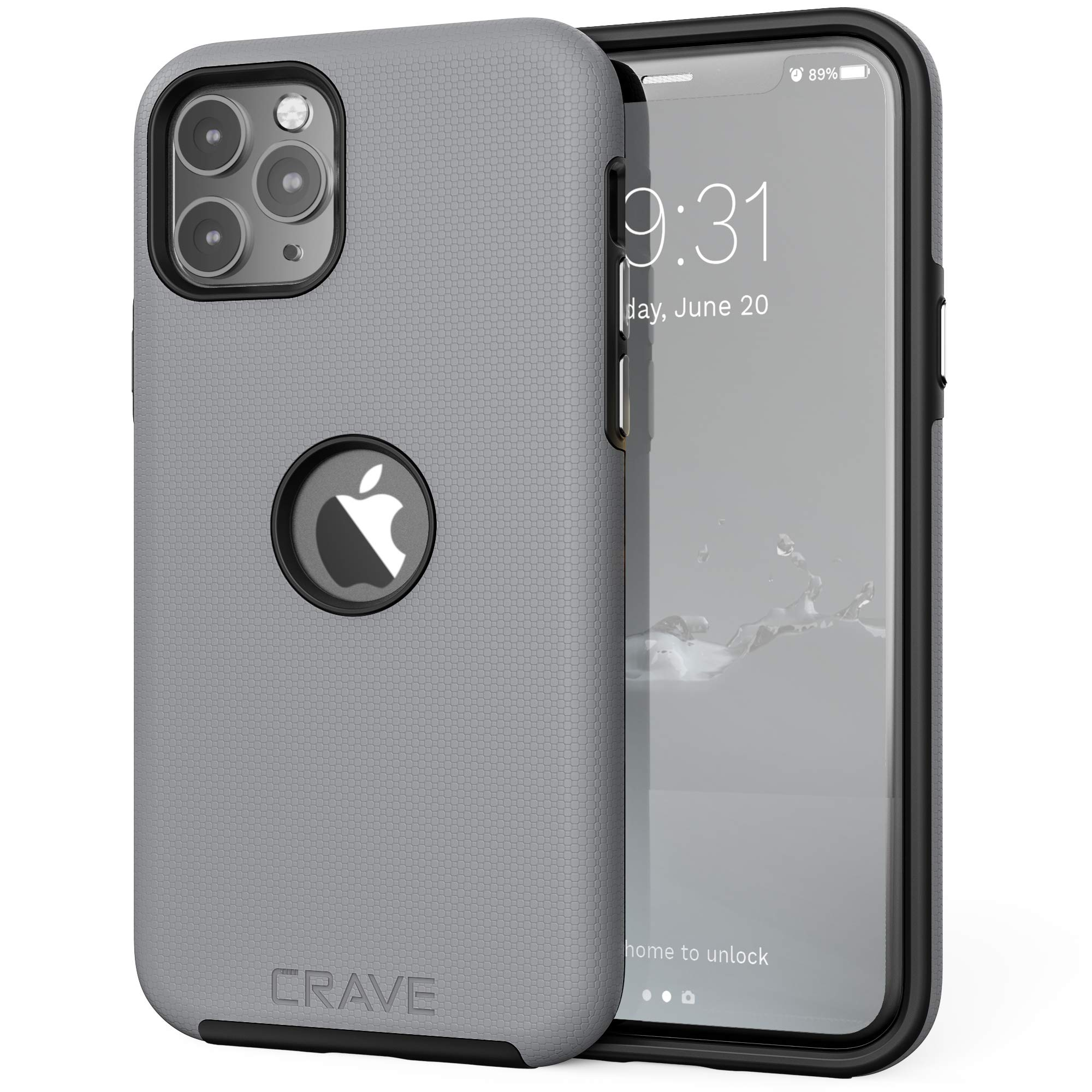Crave iPhone 11 Pro Case, Dual Guard Protection Series Case for iPhone 11 Pro - Slate