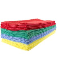 Zwipes Professional Microfiber Cleaning Cloth Towels, Premium Cleaning Supplies for Car Wash, Window Cleaner, Shop Towels, Counter Tops, Offices and more, 16x16 inch Towel Set, 12-Pack, Assorted Colors