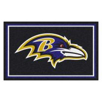 Fanmats Baltimore Ravens 4x6 Rug