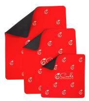 3-Pack Cooks Innovations - The Original Glide Mats for Moving Small Appliances - Coffee Makers, Blenders, Stand Mixers, Toasters & More
