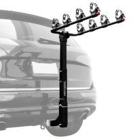 Retrospec Lenox Car 5 Bicycle Carrier Hitch Mount
