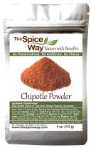 The Spice Way Ground Chipotle - 4 oz Resealable Bag …