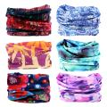 LOTUYACY Outdoor Wide Headband, Neck Gaiter Windproof Scarf Sunscreen Breathable Bandana for Men&Women,Multi Function Headwear
