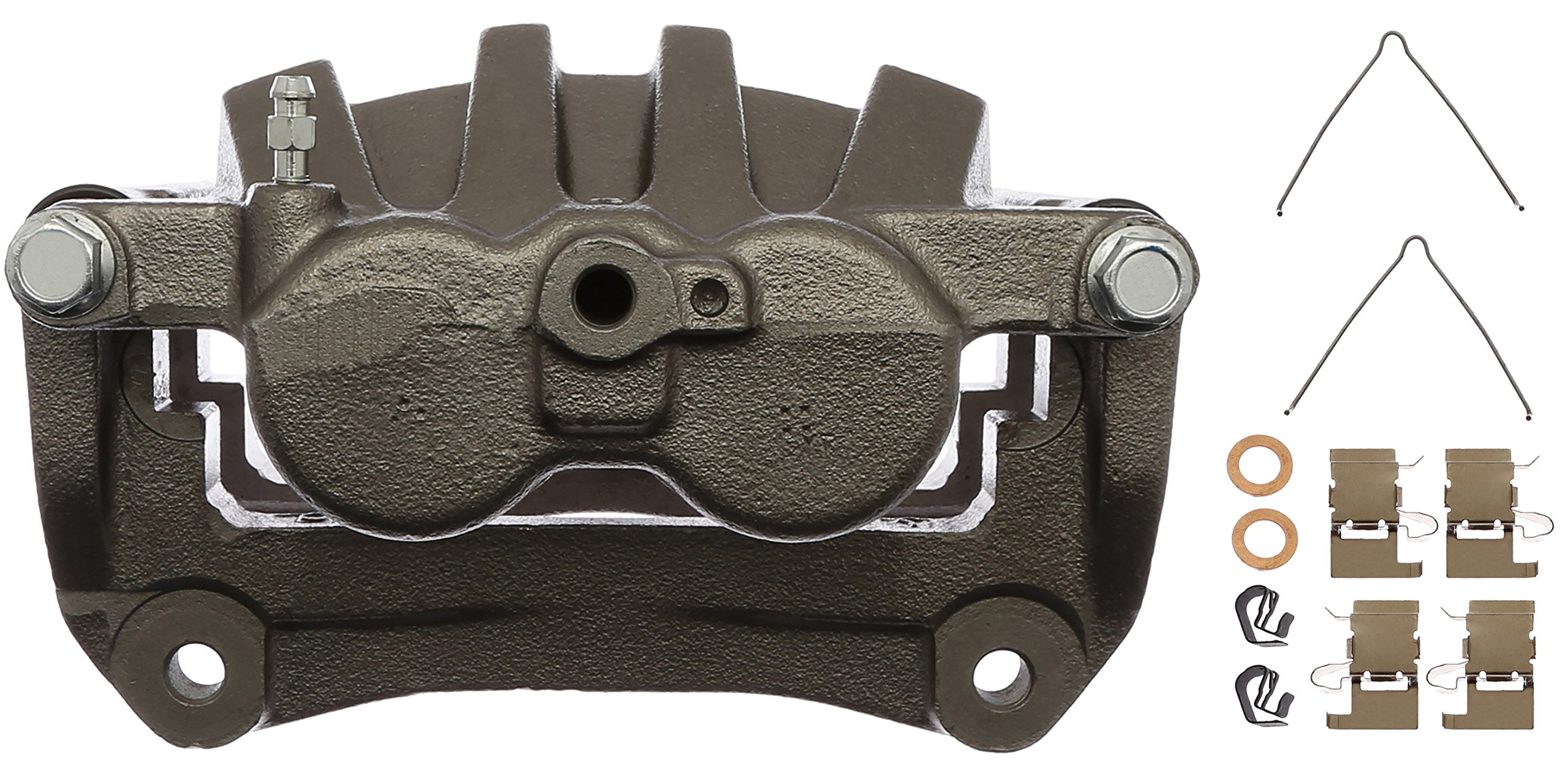ACDelco 18FR11973 Professional Front Driver Side Disc Brake Caliper Assembly without Pads, Remanufactured