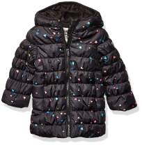 Osh Kosh Girls' Little Perfect Colorblocked Heavyweight Jacket Coat