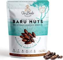 Baru Nuts Roasted, 10 oz Resealable Bag | Crunchy and Delicious | Suitable for Vegan, Gluten Free, Keto, Peanut Free Diets | High Protein Snacks | Premium Wild Supernuts | Healthy Snacks by Tio Berto