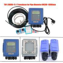 HFBTE TUF-2000B+TL-1 Ultrasonic Flow Meter Wall Mounted Liquid Flowmeter DN300~6000mm with TL-1 Large Size Transducer