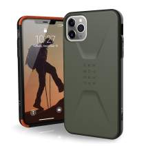 UAG Designed for iPhone 11 Pro Max [6.5-inch Screen] Civilian Feather-Light Rugged [Olive Drab] Military Drop Tested iPhone Case