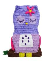 Sleepy Owl Pinata - First Birthday Party Game and Baby Shower Decoration Centerpiece