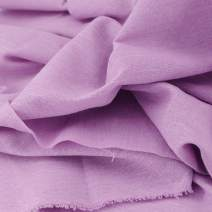 "Rose Flavor Pre-Cut Quilting Linen Fabric,Craft Cloth,DIY for Sewing Crafting 60"" by 1 Yard(Violet)"