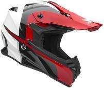 Vega Helmets VF1 Lightweight Dirt Bike Helmet – Off-Road Full Face Helmet for ATV Motocross MX Enduro Quad Sport, 5 Year Warranty (Red Stinger Graphic, X-Large)