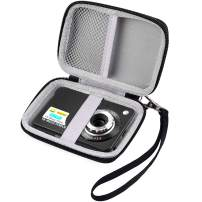 """Carrying & Protective Case for Digital Camera, AbergBest 21 Mega Pixels 2.7"""" LCD Rechargeable HD/Canon PowerShot ELPH 180/190 / Sony DSCW800 / DSCW830 Cameras for Travel by COMECASE"""