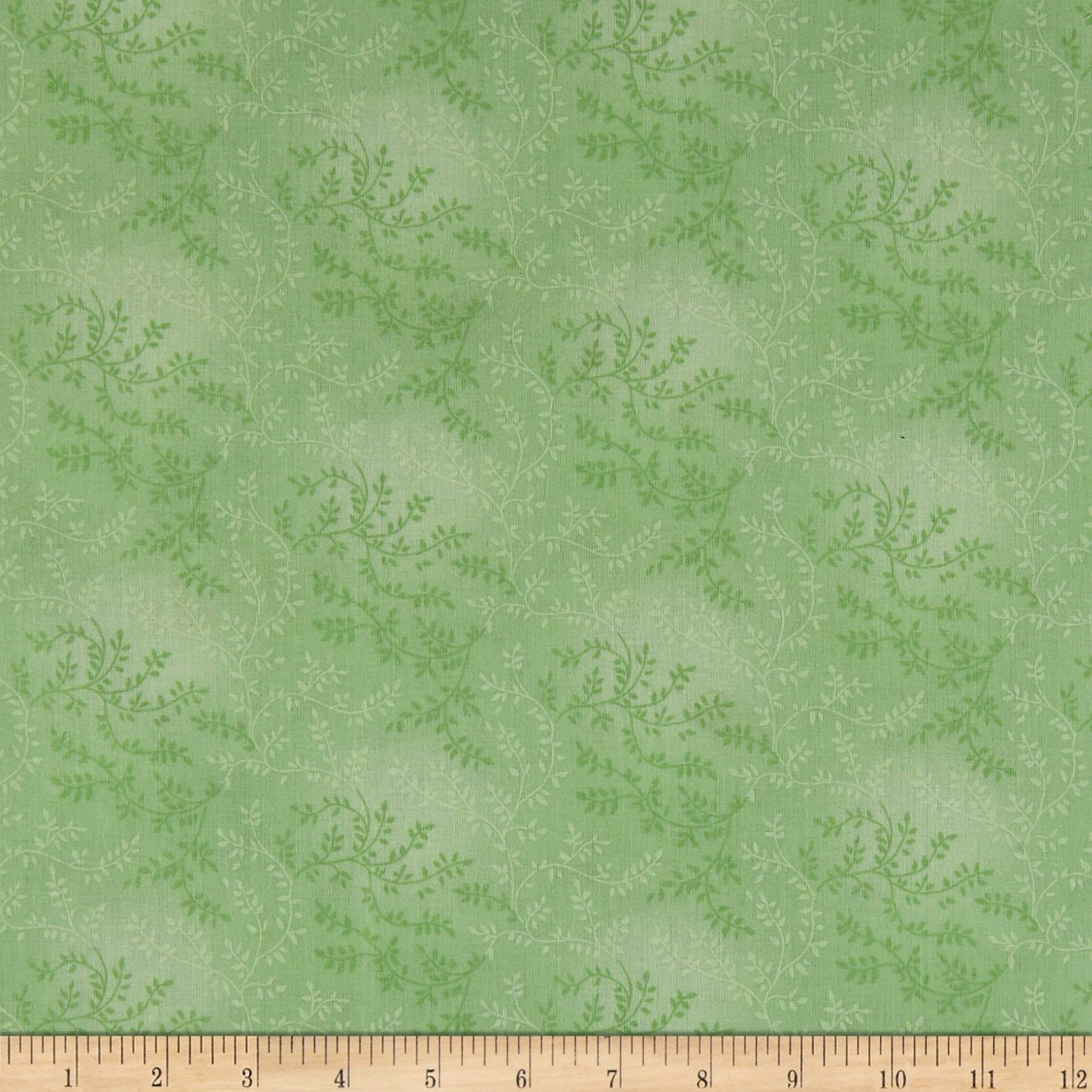 "Santee Print Works 108"" Wide Back Tonal Vineyard Pear Fabric by the Yard"
