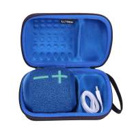 Case for Ultimate Ears WONDERBOOM 2 (Blue) - LTGEM EVA Hard Case for Ultimate Ears WONDERBOOM 2. Fits USB Cable and Charger.