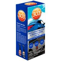 303 (30510) Products Automotive Convertible Vinyl Top Cleaning and Care Kit - Cleans And Protects Vinyl Tops - Includes 303 Tonneau Cover And Convertible Top Cleaner + 303 Automotive Protectant