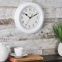 """FirsTime & Co. White Essential Wall Clock, 8.5"""""""
