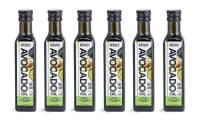 Avohass California USDA Organic Certified Extra Virgin Avocado Oil 6 Bottle Case