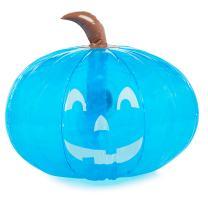 "Teal Pumpkin 15"" Inflatable for Halloween Decorations - Blow Up Indoor / Outdoor Jack O Lantern Decor - Official Teal Pumpkin Project Gear"