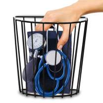"Pivit Blood Pressure Cuff Basket | 7.5"" x 7.5"" x 4.0"" 