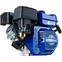 DuroMax XP7HP 212cc 7HP Recoil Start Gas Powered 50 State Approved, Multi-Use Engine, XP7HP, Blue