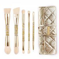 amoore Makeup Brushes Makeup Brush Set Powder Brush Blush Brush (5Pcs)