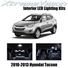 Xtremevision Interior LED for Hyundai Tucson 2010-2013 (7 Pieces) Pure White Interior LED Kit + Installation Tool