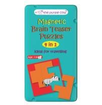 The Purple Cow- Brain Teaser Puzzles- Magnetic Travel Game. Great for Travel and on-The-go. Learning Activity for Boys and Girls.