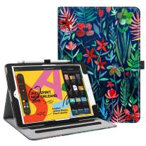 "Fintie Case for New iPad 7th Generation 10.2 Inch 2019 - [Corner Protection] Multi-Angle Viewing Folio Smart Stand Back Cover with Pocket, Pencil Holder, Auto Wake/Sleep for iPad 10.2"", Jungle Night"