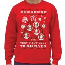 SCOBAR Epstein Ugly Christmas Crewneck Sweatshirt