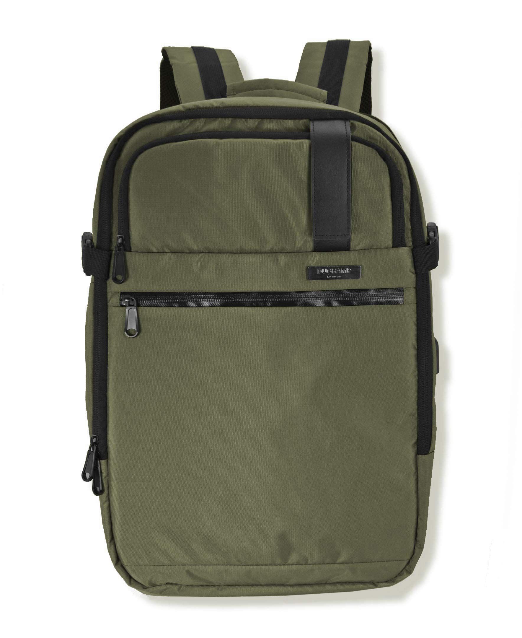Duchamp Getaway Expandable Carry-On Backpack Suitcase