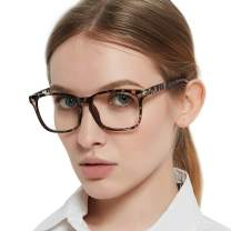 MARE AZZURO Computer Reading Glasses Women Blue Light Blocking UV400 Readers 0 1.00 1.50 2.00 2.50 3.00 3.50 4.00 (Leopard, 1.0)