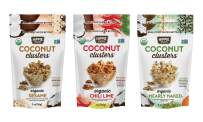 Hippie Snacks Coconut Clusters, Variety Pack, 2 Nearly Naked, 2 Sesame, 2 Chili Lime
