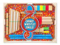Melissa and Doug Band-in-a-Box Chime! Whistle! Jingle! Set