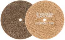 Walter 07R602 Blendex Surface Conditioning Disc - (Pack of 10) Coarse Grit, 6 in. Grinding Disc in Tan. Power Finishing Tools
