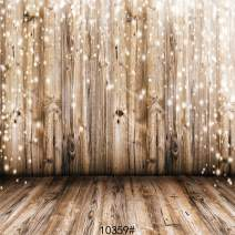 SJOLOON 10x10FT Rustic Wood Vinyl Photography Backdrop Nostalgia Wood Floor Photo Backdrop Baby Newborn Photo Studio Props JLT1039