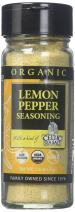 Gourmet Celtic Sea Salt Organic Lemon Pepper Seasoning Shaker – Delicious, Bold Lemon Pepper Sea Salt Adds Flavor to a Variety of Dishes, Hand Crafted and Organic, 2.2 Ounces