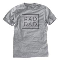 Rad Dad Boxed T-Shirt - Father's Day Present for Dad or Grandpa