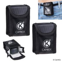 CamKix Explosion Proof LiPo Battery Bag Compatible with DJI Spark (2X) - Each Bag fits 1 Battery - Belt Loop - Fire Resistant Safety and Storage Pouch - Safe Charging and Transport