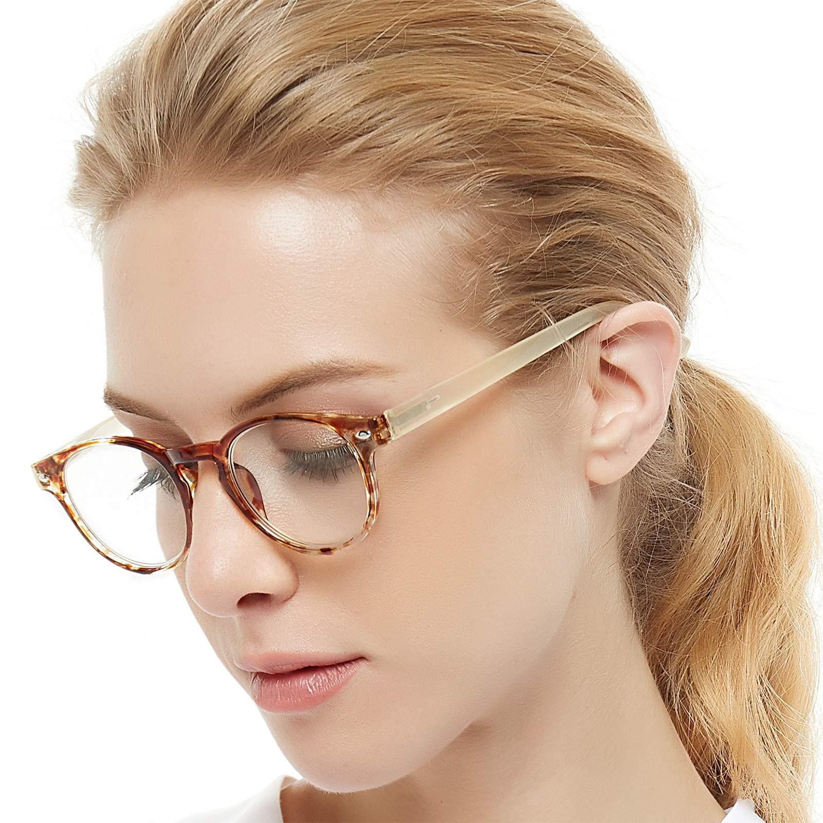 OCCI CHIARI Reading Glasses For Women Sturdy Reader 1.0 1.25 1.5 1.75 2.0 2.25 2.5 2.75 3.0 4.0 5.0 6.0