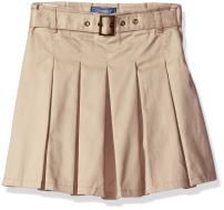 CHEROKEE Girls' Uniform Skirt with Hidden Short