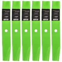 8TEN LawnRAZOR Hi Lift Blade for Ariens Zoom 1740 Gravely ZT 1540 03498400 00173800 03498451 40 Inch Decks 6 Pack