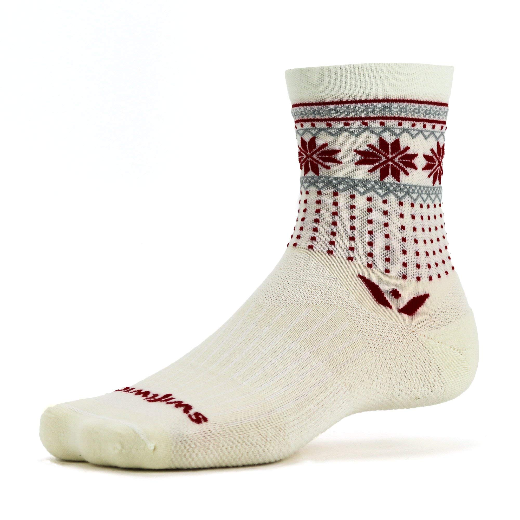 Swiftwick-VISION FIVE Limited Edition Running and Cycling Socks, Merino Wool