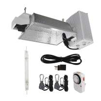Hydro Crunch 1000-Watt Double Ended HPS Pro Series Enclosed Style Complete Grow Light System 120-Volt/240-Volt with Lamp