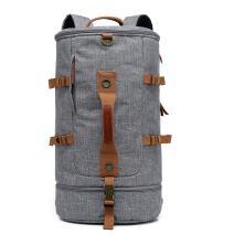 CoolBELL Sport Backpack Convertible Bag Shoulder Bag Briefcase 45L Travel Knapsack Light-Weight Water-Resistant Backpack Sport Duffel Fits 17.3 Inch Laptop for Men/Women (Grey)