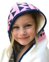 Kids Hooded Bath Towel   Extra Soft & Thick 500 GSM Bamboo Terry   Hypoallergenic & Eco-Friendly   Extra Large Toddler to Kids Bath Towel with Hood for Girls After Bath, Beach, Pool, or Swim