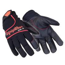 RefrigiWear Durable Palm Coated Ultra Dex Gloves (Black, Small)