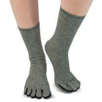 IMAK Compression Arthritis Socks, Size Large – Men & Women - Neuropathy, Circulation, Arthritis & Joint Swelling - Soft Breathable Cotton for All-Day Support